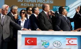 Cyprus Protests Water Connection between Turkey and Cyprus' Occupied Areas to UN