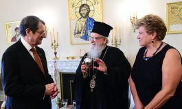 President Anastasiades Meets with Archbishop Demetrios