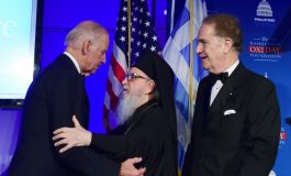 VP Joe Biden received the   OXI Day Award for courage