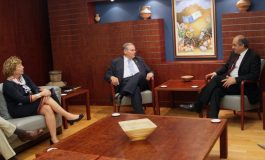 US Senator Robert Menendez holds meetings in Nicosia, discusses developments in the Cyprus problem