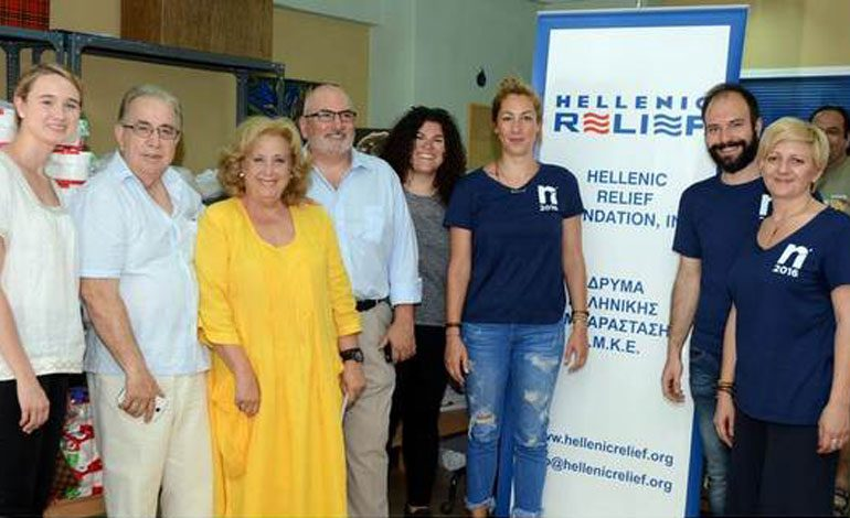 The Hellenic Relief Foundation Continues Food Distribution