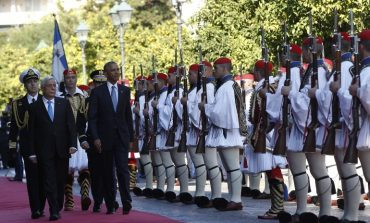 President Obama on his first day of the Athens visit expressed solidarity to Greece, raised possibility of debt relief