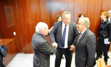 Kotzias discussed the fYROM name issue with Guterres, Nimitz