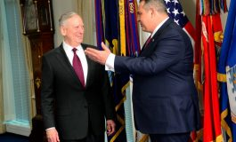 Secretary of Defense James Mattis tells Panos Kammenos Souda Bay Base may need some expansion