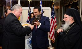Cyprus needs a real solution that will  make it a normal state, Kotzias stresses at FCAO's event in New York