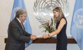 New Permanent Representative of Greece Ambassador Maria Theofili Presents Credentials to UNSG Antonio Guterres