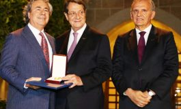 Expatriates Honored by President Nicos Anastasiades for Exceptional services to Cyprus