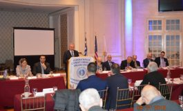 Presidential Commissioner Photis Photiou spoke at the  Federation of Cypriot American Organizations' convention