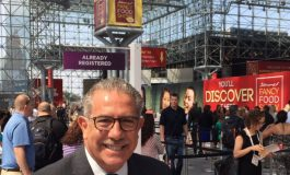 Phil Kafarakis talks about the importance of Greece  as the partner country at NYC's Fancy Food Show