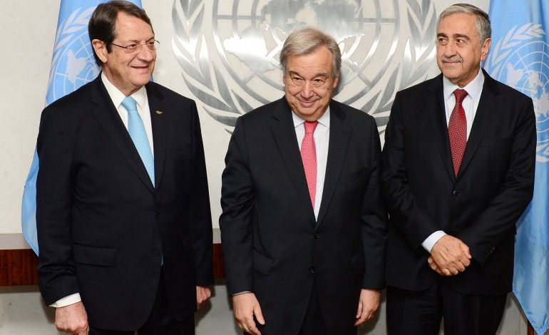 UNSG Good Offices Mission report on Cyprus submitted to the Security Council