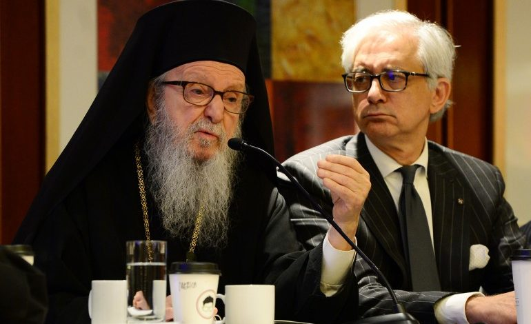 "STRONG PROTEST OF ΤΗΕ GREEK ORTHODOX ARCHDIOCESE AGAINST FALSE ALLEGATIONS OF THE ""NATIONAL HERALD"""