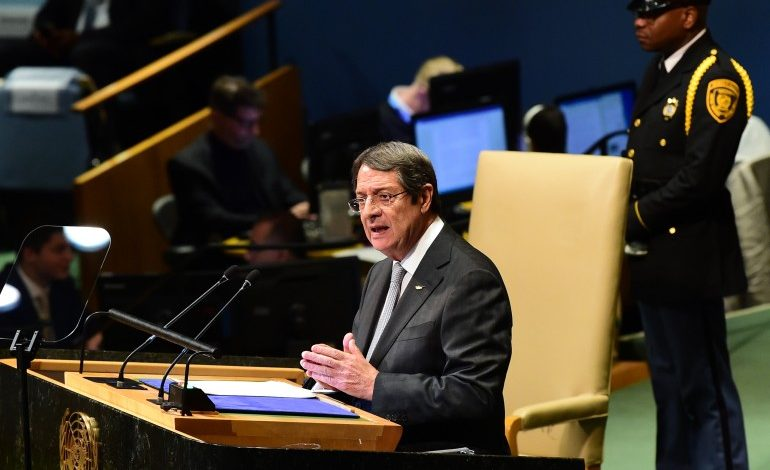 73rd SESSION OF UN GENERAL ASSEMBLY SEPTEMBER 27, 2018 STATEMENT BY HIS EXCELLENCY  THE PRESIDENT OF THE REPUBLIC OF CYPRUS MR. NICOS ANASTASIADES