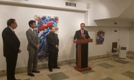 Masaaki Noda exhibition at Greek Consulate