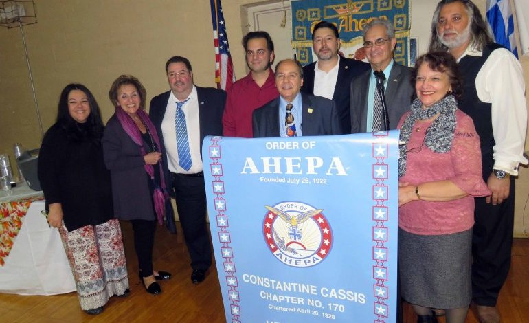 Gratitude and Appreciation of American Values  at AHEPA Family Thanksgiving Dinner