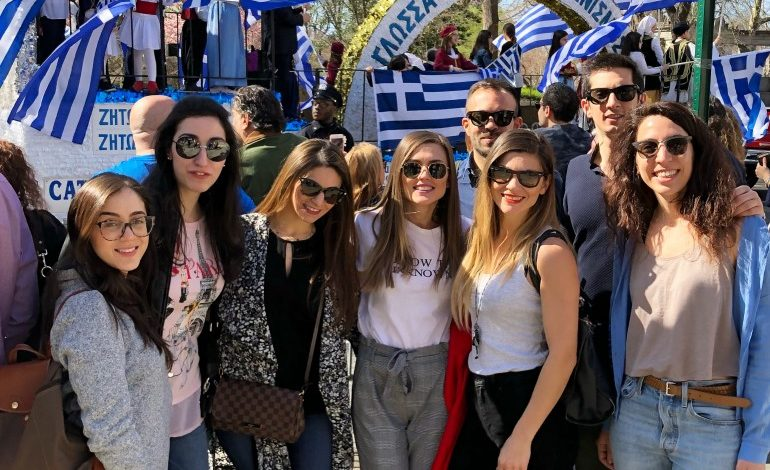 CYP Raises Funds for Cypriot Children at the  Greek Independence Day Parade 2018