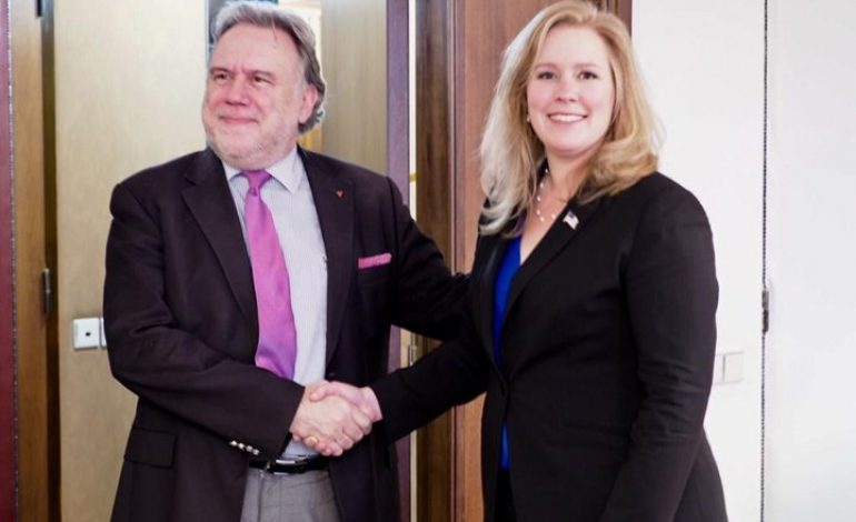 An exclusive interview with the head of the Greek Delegation, to the Greece-US strategic dialogue Alternate Foreign Minister Giorgos Katrougalos
