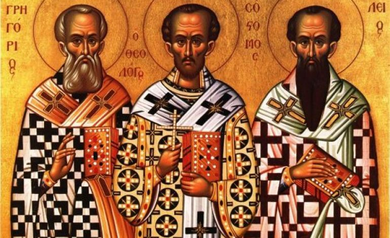 The Synaxis of The Three Hierarchs.  By John Athanasatos