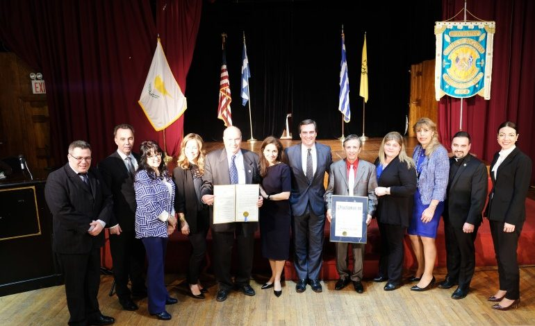 QUEENS LEADERS CELEBRATE GREEK INDEPENDENCE DAY