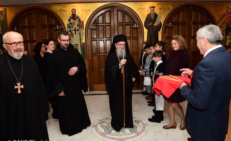 Demetrios says farewell to the members of the Greek Orthodox Archdiocese –His resignation was accepted effective Saturday, May 11 – Election of his successor on Saturday