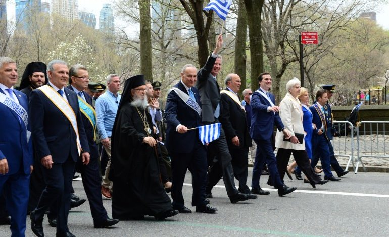 New York's 198th Greek Independence Day parade Showed Overwhelming Patriotism and Phil-Hellenism