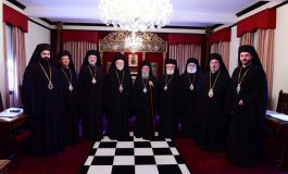 Communiqué of the Holy Eparchial Synod