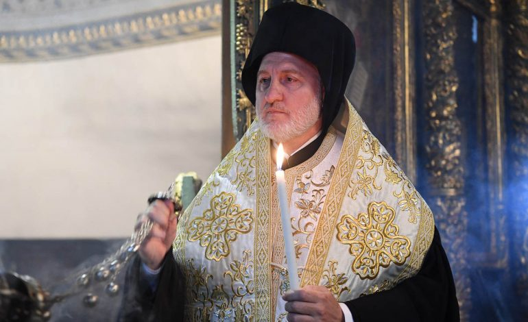 Message of newly elected Archbishop of America Elpidophoros