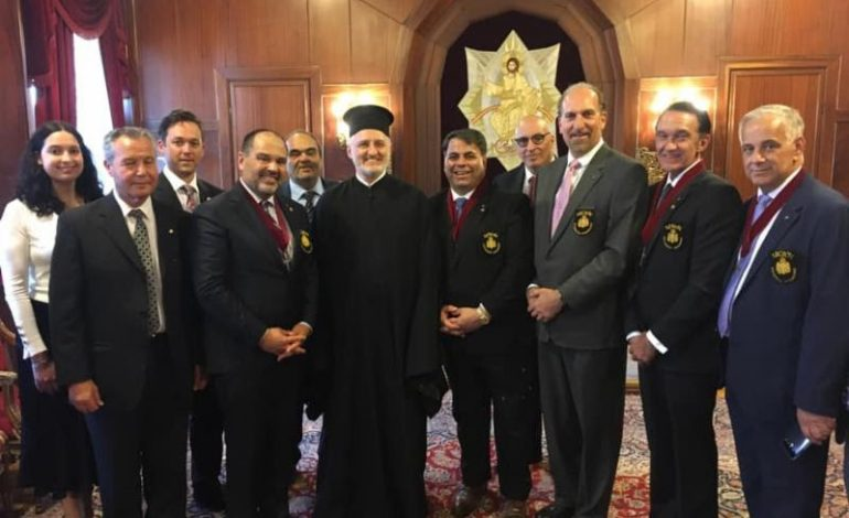 AHEPA meets with Newly-elected Archbishop of America