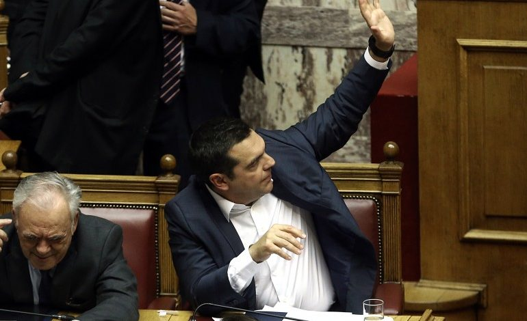 Tsipras' SYRIZA government wins parliament's confidence vote