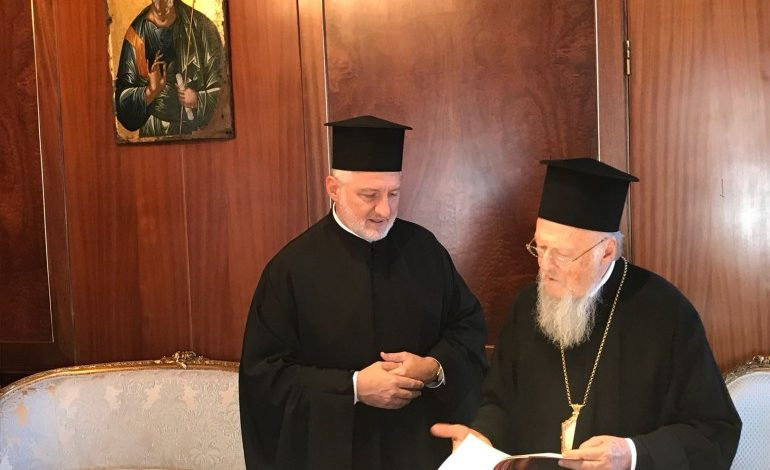 Οn June 22 the enthronement of the new Archbishop of America Elpidoforos