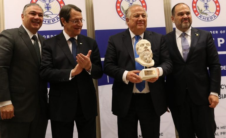 <!-- wp:paragraph --> <p>PSEKA President Philip Christopher Receives Highest AHEPA Honor during a ceremony at the Presidential Palace of Cyprus</p> <!-- /wp:paragraph -->
