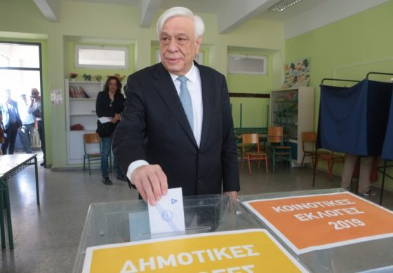 Greek Political leaders' statements after casting the vote in today's Euroelections