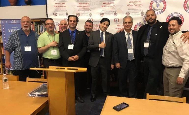 New York State District 6 AHEPA Family gathered in Astoria