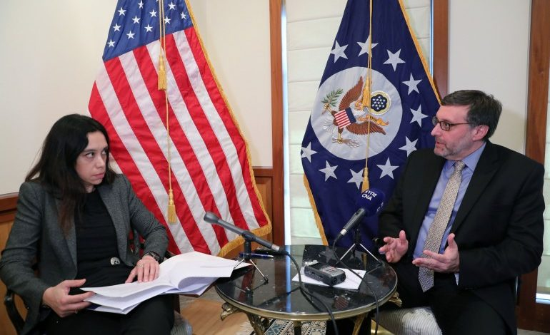 US has made clear to Turkey that its actions in the E. Mediterranean are provocative, US DAS Palmer tells CNA