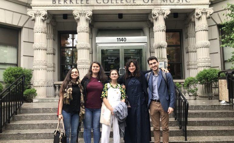 """Kalesma"" brings underprivileged Greek children to Boston Berklee College of Music through scholarship programs"