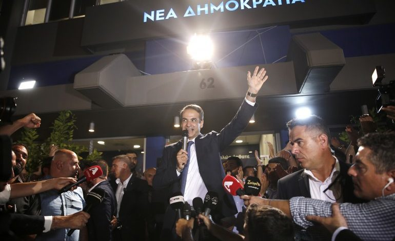 ND scores a clear victory – Mitsotakis to be sworn- in Prime Minister on Monday