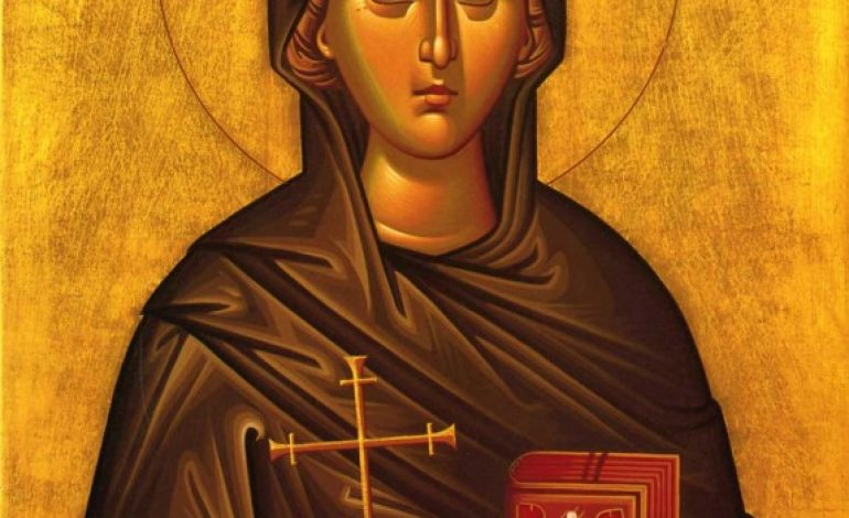 St Euphemia the Martyr, By John Athanasatos