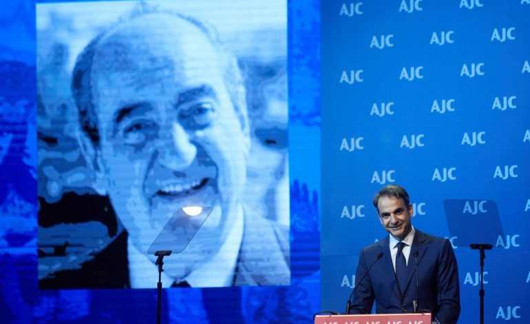 Four Things Jews Should Know About Greece's New Prime Minister Kyriakos Mitsotakis at AJC Global Forum 2018