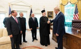 Meeting of Archbishop Elpidophoros with President Trump