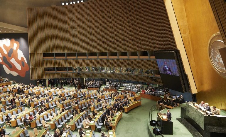 Mitsotakis' first address at UN General Assembly: Nations must share the burden of migration