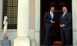 Prime Minister Mitsotakis welcomes U.S. Secretary of State Pompeo