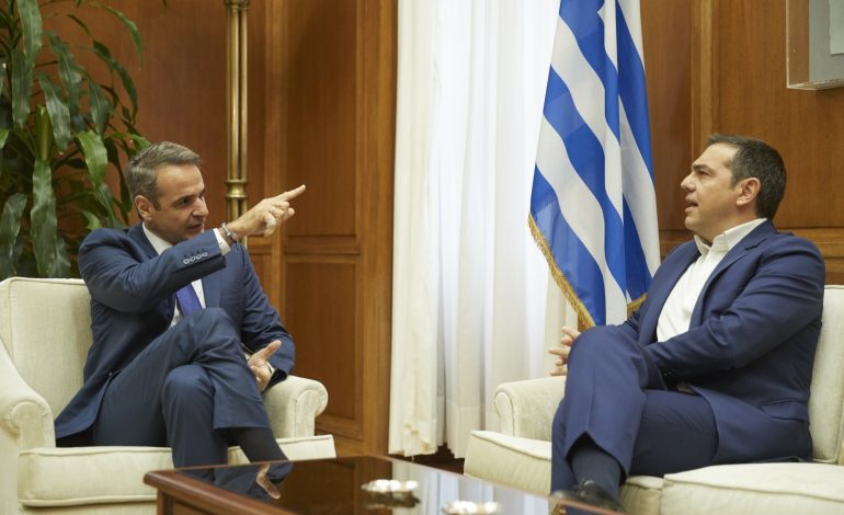 Differences remain on the  Vote of Greeks Abroad, following Mitsotakis' meetings with the political party leaders
