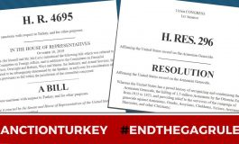 Armenian Genocide and Turkey Sanctions Bills Pass House with Overwhelming Bipartisan Vote