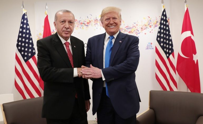 Trump meets Erdogan on November, 13 and Greek, Armenian, Kurdish and human rights groups call for a rally across the White House, at Lafayette Park