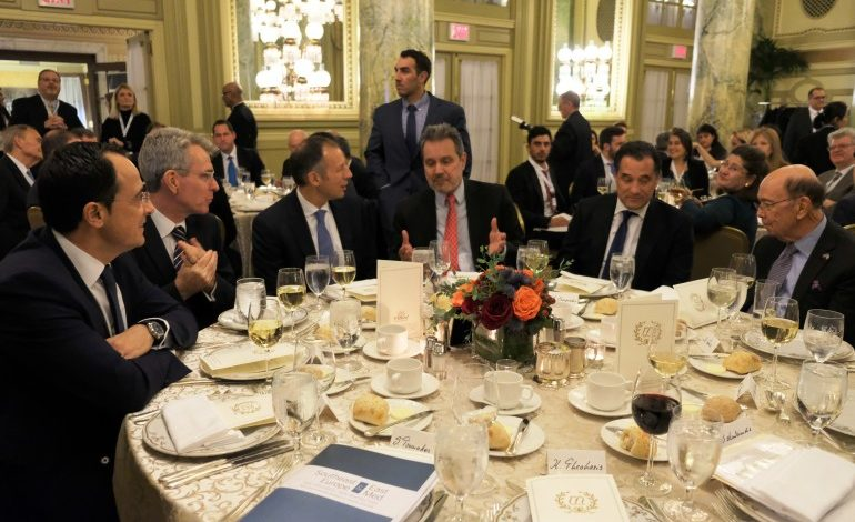 New strategies and perspectives in SE Europe and the East-Med were explored at a Conference organized by Delphi Economic Forum and Kathimerini in Washington