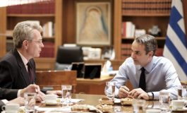 "U.S Ambassador  Geoffrey Pyatt to the ""GreekNews"": Mitsotakis' visit  a recognition of our  enhanced strategic  partnership and an  opportunity to  build  momentum  for the future"