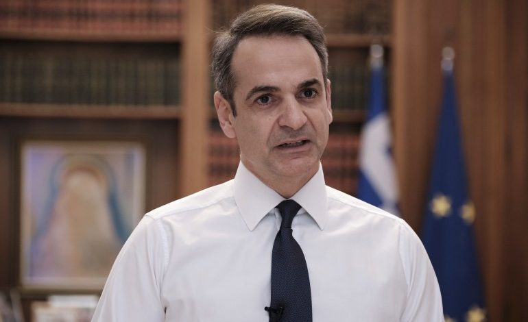 Prime Minister Mitsotakis imposes curfew as of Monday morning, to stem spread of coronavirus