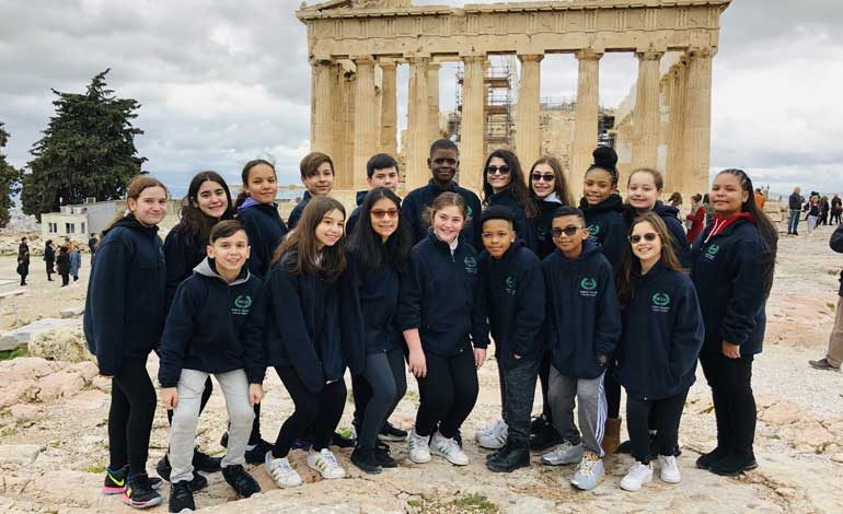 Hellenic Charter School Students Had Another Research Trip to Greece