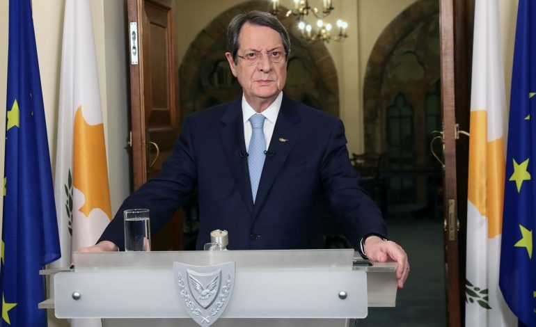 Unnecessary movement of people will be restricted in Cyprus to contain COVID-19, President announces