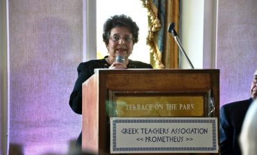 Athena Kromidas: Establishing  Connecting Link  for High Council  for Greek Education  in the U.S.