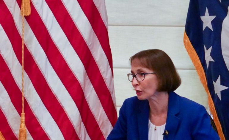 Ambassador Judith Garber's interview with Phileleftheros: The United States is deeply concerned by recent reports related to Turkey's plans.